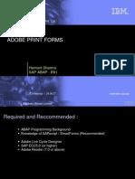 SAP ADOBE FORM BASICS