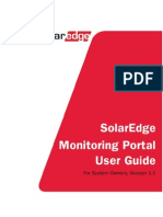 Solaredge Monitoring Portal User Guide