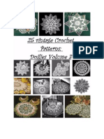 25 Vintage Crochet Patterns, Doilies Volume 3