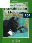 Gianni Vattimo - Introduccion a Heidegger