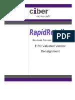 BP LOSC Valuated Vendor Consignment