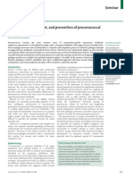 pathogenesis, treatment, and prevention of pneumococcal pneumonia