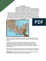 Sintesis Culturas Prehispanicas Historia de Mexico