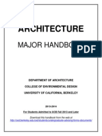 Architecture Major Berkeley