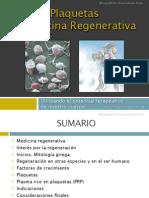 Plaquetas y Medicina Regenerativa