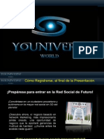 Youniverse World Informacion Red Social Virtual en 3D