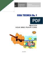 Relacion Agua Suelo Planta F
