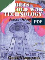 Secrets of Cold War Technology - Gerry Vassilatos (2000)