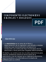 Componentes Electronicos Digitales y Analogos