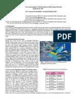 Evaluation of Service Area Against Tsunami