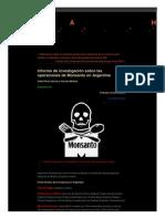 Lahistoriadeldia Wordpress Com 2013-01-17 Informe de Investigacion Sobre Las Operaciones de Monsanto en Argentina