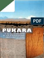 Pukara y El Surgimiento de la Civilización en el Altiplano Andino