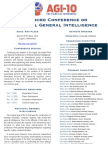 AGI-10 Call For Papers Poster
