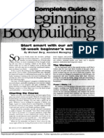 Complete Guide to Beginning Bodybuilding