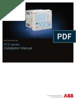 615 Series Installation Manual