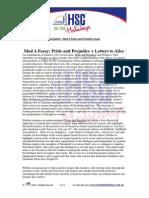 pride and prejudice vs letters to alice essay pride and advanced english essay