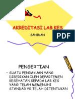 Akreditasi Laboratorium Kesehatan