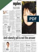 Delia Simu, Keeping Fit, Sun Media (Nov. 20, 2006)