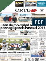 Periódico Norte de Ciudad Juárez 29 de Diciembre de 2013