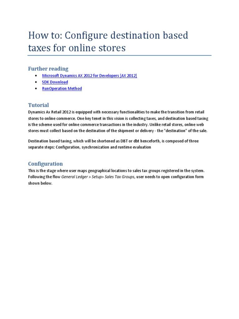 Online shopping tax california