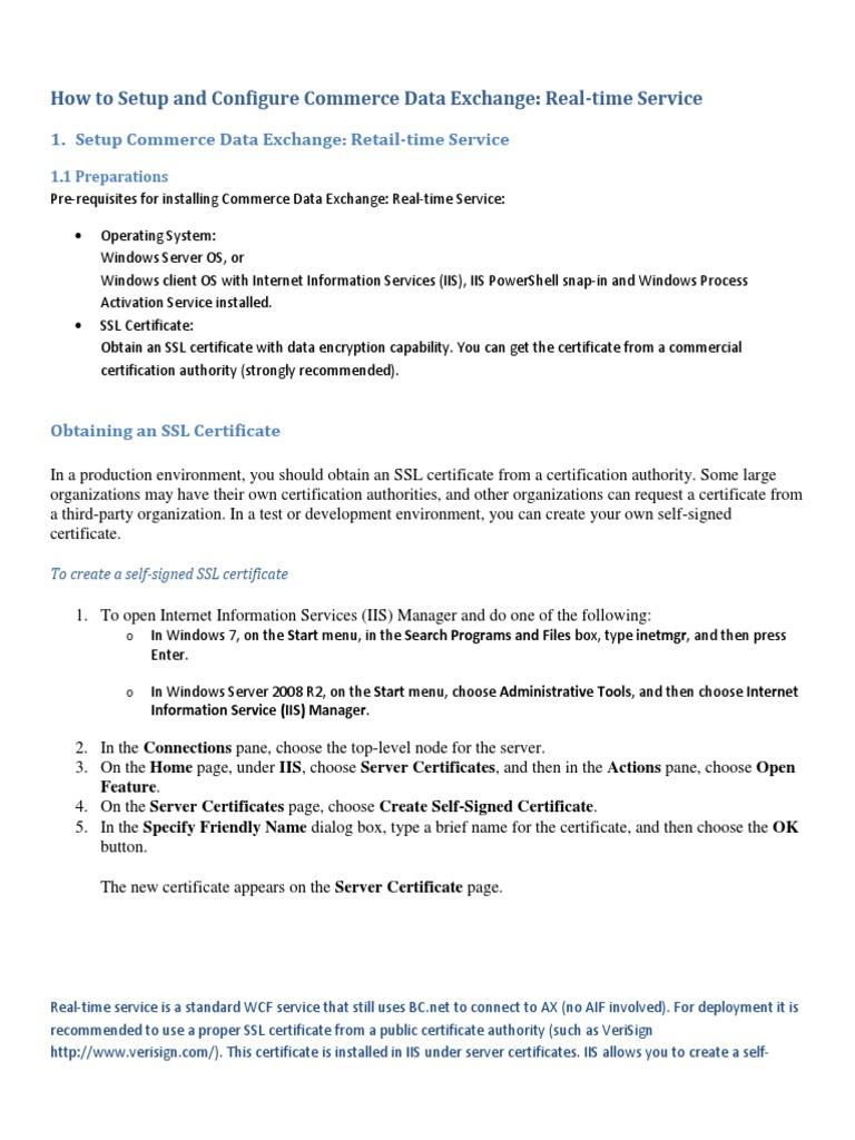 Powershell Ssl Certificate