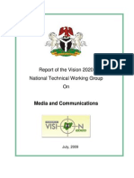 Media & Communications Ntwg Report