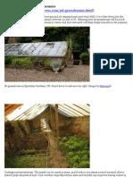 Mici SERE - Pit Greenhouses