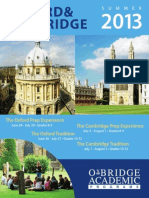 Cambrige & Oxford Summer