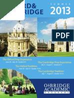Cambrige & Oxford Summer