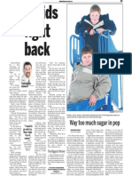 Ackland Boys, Keeping Fit, Sun Media (Jan. 1, 2007)