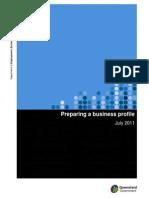 Preparing a Business Profile