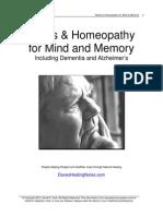 Mind Memory Herbs Homeopathy