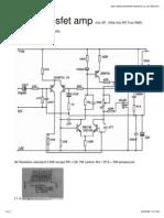 Amplifier-Power - 150W Mosfet Amp