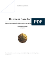 BUSINESS CASE for EAI - Baxter International, GE Power System, & Corporate Express