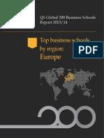 mba rankings Europe