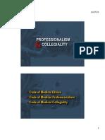 Professionalism Idi 2013