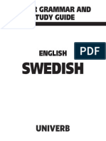Minor Grammar English-Swedish
