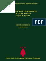 Human Factors Considerations of Undergrounds In Insurgencies (2013)
