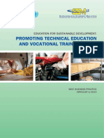 Promoting Technical Education and Vocational Training