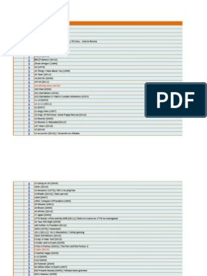Iwen's 1080P MKV List (27 11 2013) | Leisure