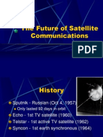 The Future of Satellite Communications