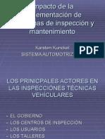 Impacto de los programas de mantenimiento y inspección
