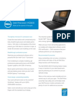 Dell Precision m3800 Spec Sheet