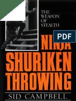 Ninja Shuriken Throwing