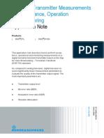 DVB-TH Transmitter Measurements