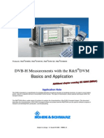 DVB H Measurements