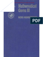Ross Honsberger - Mathematical Gems.vol. III