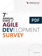 7th Annual State of Agile Development Survey