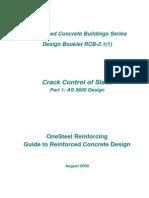 Crack Control of Slabs_Design Booklet