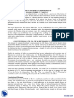 Effort for Establishment of Islamic System in Pakistan-Pakistan Studies-Handout PDF